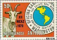 Nederlandse Antillen NA 621  1979 Vergadering P.A.H.O. 50 cent  Gestempeld