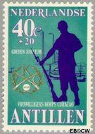 Nederlandse Antillen NA 631  1979 Vrijwilligers Korps 40+20 cent  Gestempeld