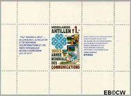 Nederlandse Antillen NA 742  1983 Internationale jaar Telecommunicatie 55+25 cent  Postfris