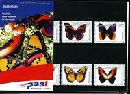 Nederlandse Antillen NA M213  2006 Vlinders 285+125 cent  Postfris