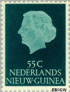 Nieuw-Guinea NG 34  1955 Type 'En Profile' 55 cent  Gestempeld