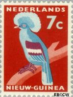 Nieuw-Guinea NG 54  1959 Kroonduif 7 cent  Gestempeld