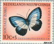 Nieuw-Guinea NG 64  1960 Sociale zorg 10+5 cent  Gestempeld