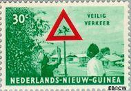 Nieuw-Guinea NG 74  1962 Veilig verkeer 30 cent  Gestempeld