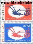 POR 1305#1306 Postfris 1976 Portugese schrijversvereniging
