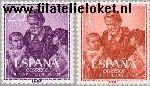 SPA 1191#1192 Postfris 1960 Paul, Sint Vincent van