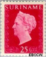 Suriname SU 266  1948 Koningin Wilhelmina 25 cent  Gestempeld