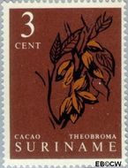 Suriname SU 356  1961 Inheemse vruchten 3 cent  Gestempeld