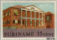 Suriname SU 366  1961 Historische gebouwen 35 cent  Gestempeld