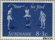 Suriname SU 414  1964 Kinderspelen 8+3 cent  Gestempeld