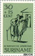 Suriname SU 474  1967 Barmhartige Samaritaan 30+15 cent  Gestempeld