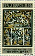 Suriname SU 504  1968 Restauratie Synagoge 30 cent  Gestempeld