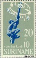 Suriname SU 524  1969 Kinderspelen 20+10 cent  Gestempeld