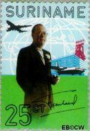 Suriname SU 564  1971 Prins Bernhard 25 cent  Gestempeld
