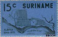 Suriname SU 574  1971 Stichting Albina 15 cent  Gestempeld