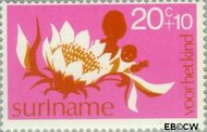 Suriname SU 634  1974 Diverse voorstellingen 20+10 cent  Gestempeld