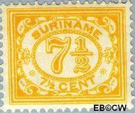 Suriname SU 84  1913 Drukwerkzegel 7½ cent  Gestempeld