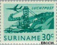 Suriname SU LP39  1965 Landschappen 30 cent  Gestempeld