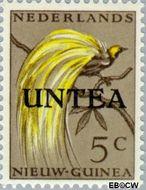 West-Nieuw-Guinea NG WNG3  1962 UNTEA opdruk 5 cent  Gestempeld
