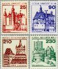 Berlin ber 587#590  1978 Burchten en kastelen  Postfris