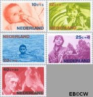 Nederland NL 870#874  1966 Levensstadia kind  cent  Postfris