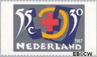 Nederland NL 1384a  1987 Rode Kruis- Activiteiten 55+30 cent  Postfris
