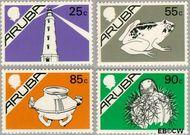 Aruba AR 30#33  1987 Beatrix  cent  Postfris