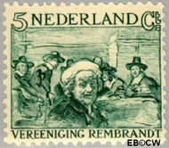 Nederland NL 229  1930 Vereniging Rembrandt 5+5 cent  Gestempeld
