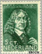 Nederland NL 297  1937 Bekende personen 5+3 cent  Gestempeld
