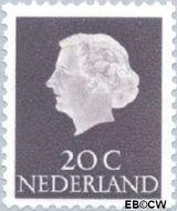Nederland NL 621  1954 Koningin Juliana- Type 'En Profile' 20 cent  Gestempeld
