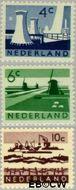 Nederland NL 792#794  1962 Landschappen   cent  Gestempeld