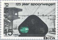 Nederland NL 818  1964 Spoorwegen 15 cent  Gestempeld
