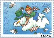Nederland NL 1296  1983 Wintermotieven 50+25 cent  Gestempeld