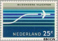 Nederland NL LP15  1966 Bijzondere vluchten 25 cent  Gestempeld