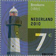 Nederland NL 2717a  2010 Vuurtoren 700 cent  Gestempeld