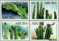 Aruba AR 224#227  1999 Cactussen  cent  Gestempeld