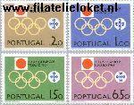 POR 968#971 Postfris 1964 Olympische Spelen- Tokyo