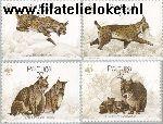 POR 1741#1744 Postfris 1988 Natuurbescherming