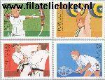 POR 1762#1765 Postfris 1988 Olympische Spelen- Seoul