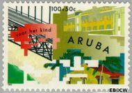Aruba AR 133  1993 Symboliek 100+50 cent  Gestempeld