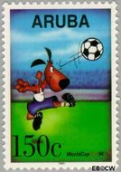 Aruba AR 143  1994 WK Voetbal 150 cent  Gestempeld