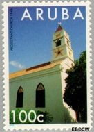 Aruba AR 153  1995 Gebouwen 100 cent  Gestempeld