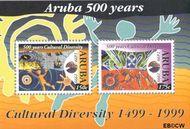 Aruba AR 234  1999 Culturele diversiteit  cent  Gestempeld
