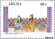 Aruba AR 264  2001 Mascaruba 40 jaar 60 cent  Gestempeld