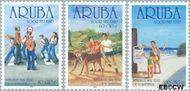Aruba AR 275#277  2001 Kinderzegels  cent  Postfris