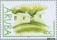 Aruba AR 294  2003 Lemen huisjes 40 cent  Gestempeld