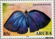 Aruba AR 304  2003 Vlinders 85 cent  Gestempeld