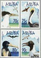 Aruba AR 316#319  2004 Watervogels  cent  Gestempeld