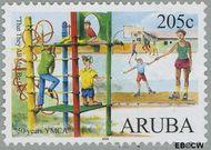 Aruba AR 359  2006 Y.M.C.A. 205 cent  Gestempeld