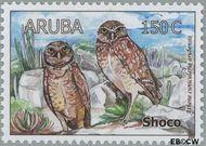 Aruba AR 401  2008 Uilen 150 cent  Gestempeld